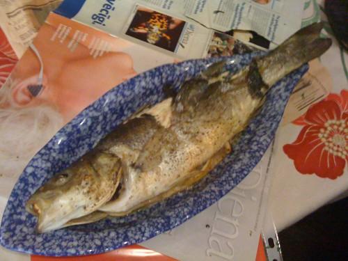 Akmeņasaris (sea bass)