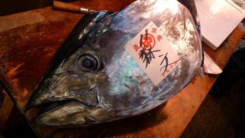 Piedzīvojumi Cukidži zivju tirgū