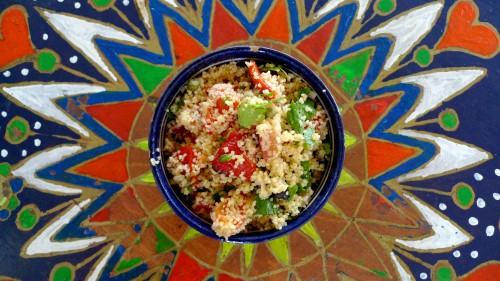 Vasarīgi kuskusa salāti