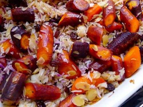 Dārzeņu un rīsu sacepums